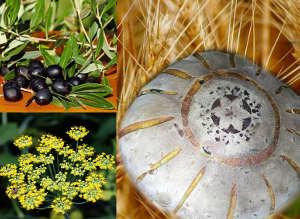 La Pagnotta Integrale al Finocchio e Olive a