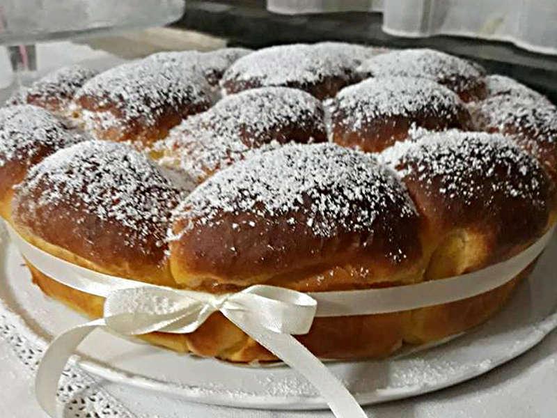 Ricetta Danubio dolce alla zucca (o pan brioche alla zucca)