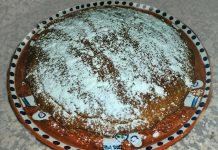 Torta di carote, arancia, limone e farro integrale