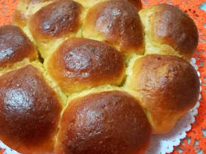 Il pan brioche integrale all'arancia