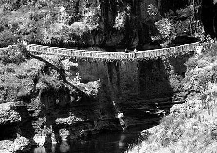 Il ponte di corde sospeso Q'eswachaka