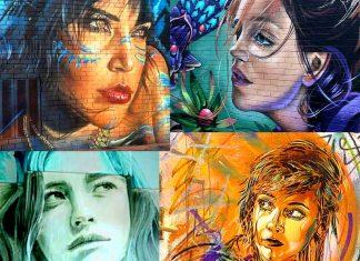 10 volti di donne nella street art