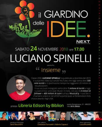 Luciano Spinelli a il Giardino delle IDEE Next Generation