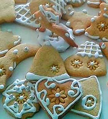 Ingredienti Biscotti pan di zenzero Gingerbread o Biscotti di Natale