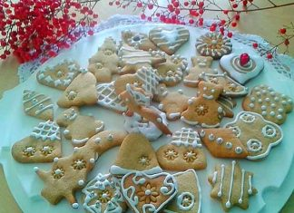 Biscotti pan di zenzero Gingerbread o Biscotti di Natale