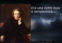 Era una notte buia e tempestosa... e Edward Bulwer-Lytton