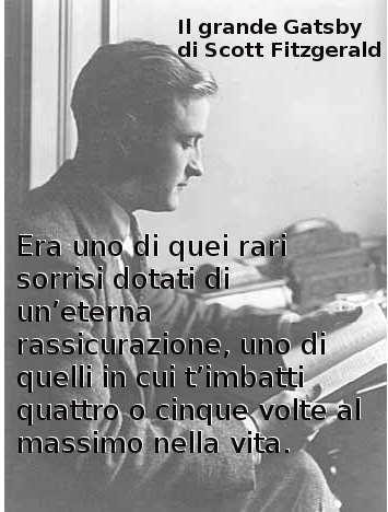 Frasi di Scott Fitzgerald da Il grande Gatsby