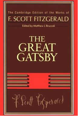 copertina di Il grande Gatsby di Scott Fitzgerald