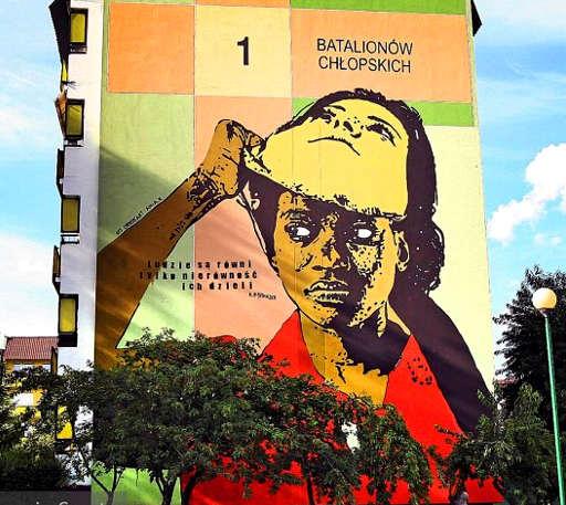 Polonia Intervista a Chekos'art: la street art contro il razzismo