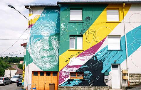 Chekos'art:, murales