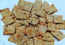 La ricetta dei biscotti alle olive verdi e parmigiano integrali
