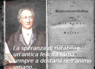 Le affinità elettive di Goethe: le frasi più belle del libro