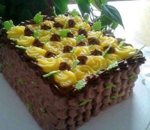 Foto Torta arancia e cioccolato
