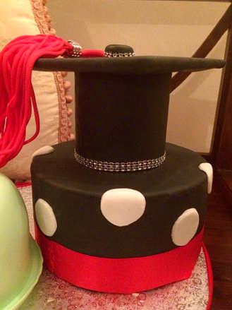 Cappello della Torta di laurea senza glutine