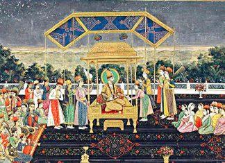 Trono del Pavone, il trono d'oro perduto degli imperatori Moghul
