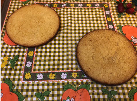 Basi della Victoria sponge cake o torta vittoriana 2