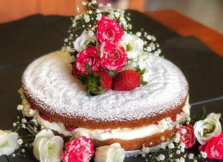 Victoria sponge cake o torta vittoriana