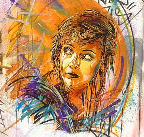 C215, volti di donne nella street art