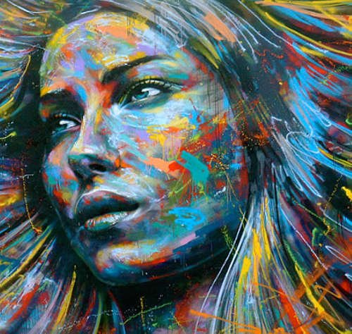 David Walker, Volti di donne nella street art