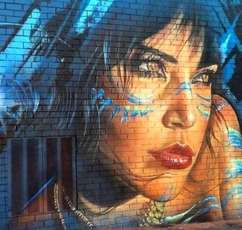 Adnate, Volti di donne nella street art