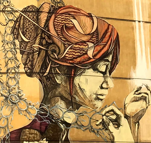 Faith47, volti di donne nella street art