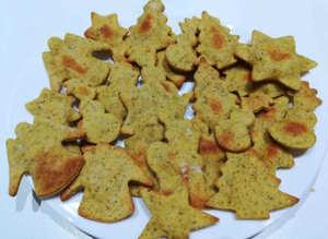 15 ricette di natale Biscotti di Natale speziati salati integrali