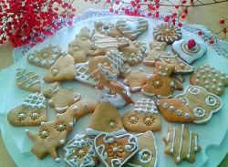 I Biscotti pan di zenzero Gingerbread o Biscotti di Natale