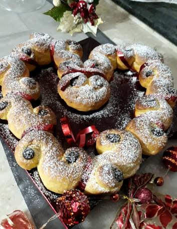 Ricetta Brioche di Santa Lucia o Lussekatter dolci natalizi svedesi