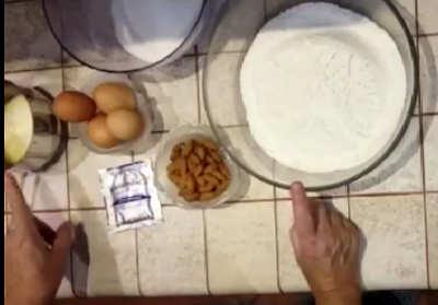 Ingredienti Cantucci ricetta semplice