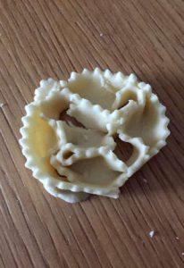 Ingredienti Cartellate al miele senza glutine