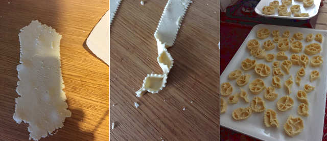 Preparazione Cartellate al miele senza glutine