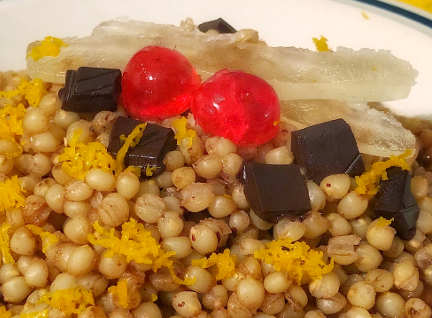 Preparazione Cuccìa siciliana ricetta palermitana