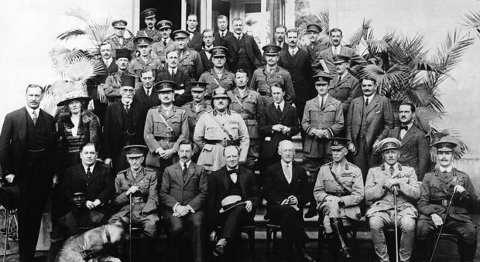 Conferencia de El Cairo, 1921, Gertrude Bell