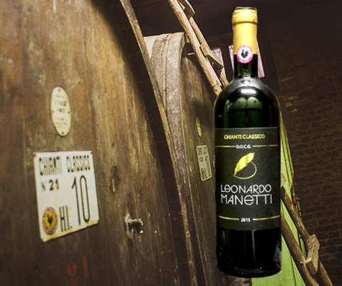 Botti con Chianti Classico 2015 dell'Azienda Agricola Leonardo Manetti