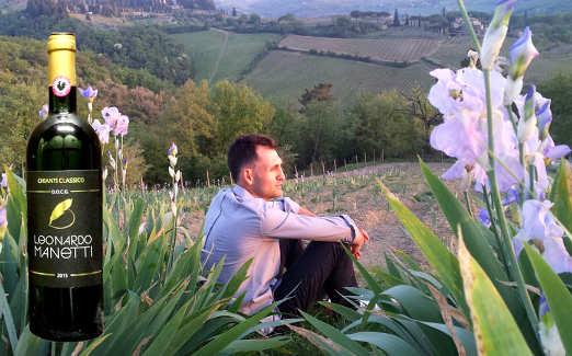 Foto Il vino e il giaggiolo dell'Azienda Agricola Leonardo Manetti