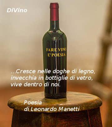 Poesia Il vino e il giaggiolo dell'Azienda Agricola Leonardo Manetti