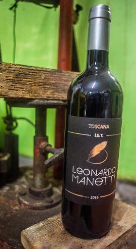 Foto del vino dell'Azienda Agricola Leonardo Manetti