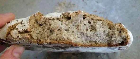 Preparazione Pane senza glutine a ridotto indice glicemico