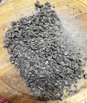 Ingredienti Panettone fatto in casa al cioccolato ricetta semplice