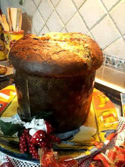 Il Panettone fatto in casa al cioccolato ricetta semplice