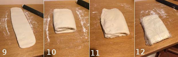 Preparazione 3 Pasta sfoglia senza glutine