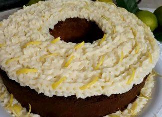 Ricetta Babà al limone a forma di ciambella