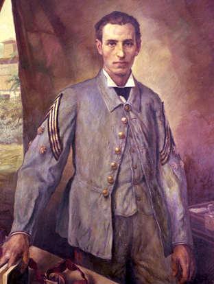 Ritratto Santiago Ramon y Cajal a Cuba