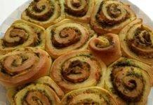 Torta di rose soffice senza burro salata