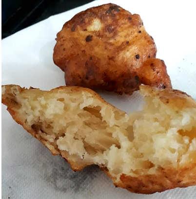 Ricetta Zeppole di Natale calabresi ricetta con patate ed alici piccanti