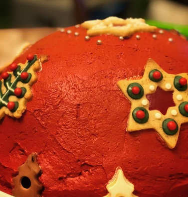 ricetta Zuccotto di Natale ricotta e cioccolato con pan di Spagna