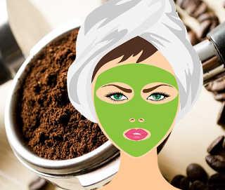 I 100 Modi di utilizzare i fondi di caffè, maschera bellezza