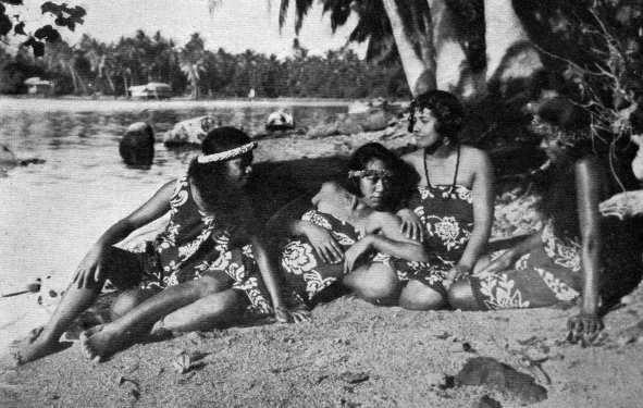 Foto di Aurora Bertrana: viaggiatrice in Polinesia