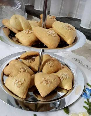 Ingredienti Biscotti alla Nutella a forma di cuore