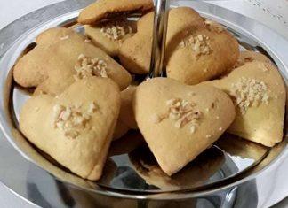 Biscotti alla Nutella a forma di cuore